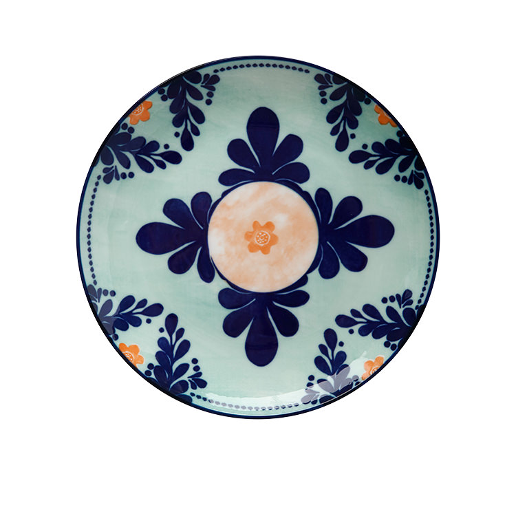 Maxwell & Williams Majolica Side Plate 20cm Teal