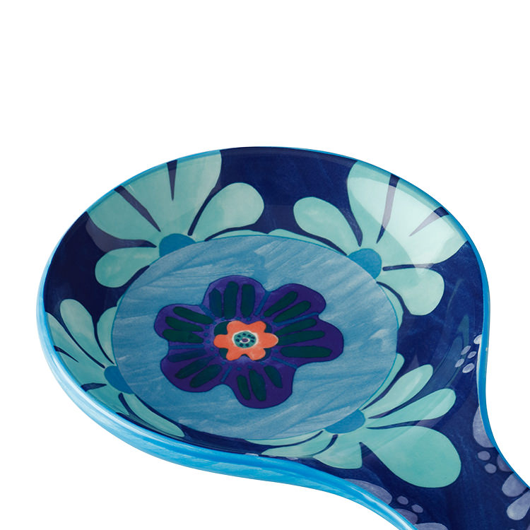 Maxwell & Williams Majolica Spoon Rest Blue