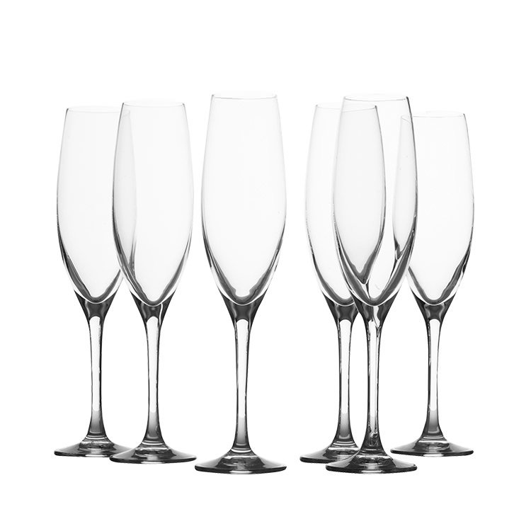 Maxwell & Williams Mansion Champagne Flute 180ml Set of 6