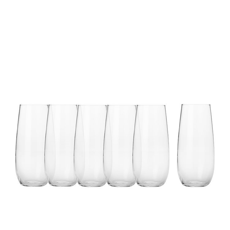 Maxwell & Williams Mansion Stemless Flute 230ml Set of 6
