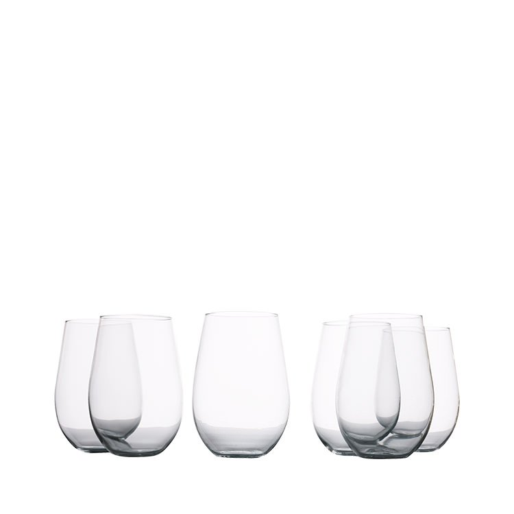 Maxwell & Williams Mansion Stemless Red Wine Glass 580ml Set of 6