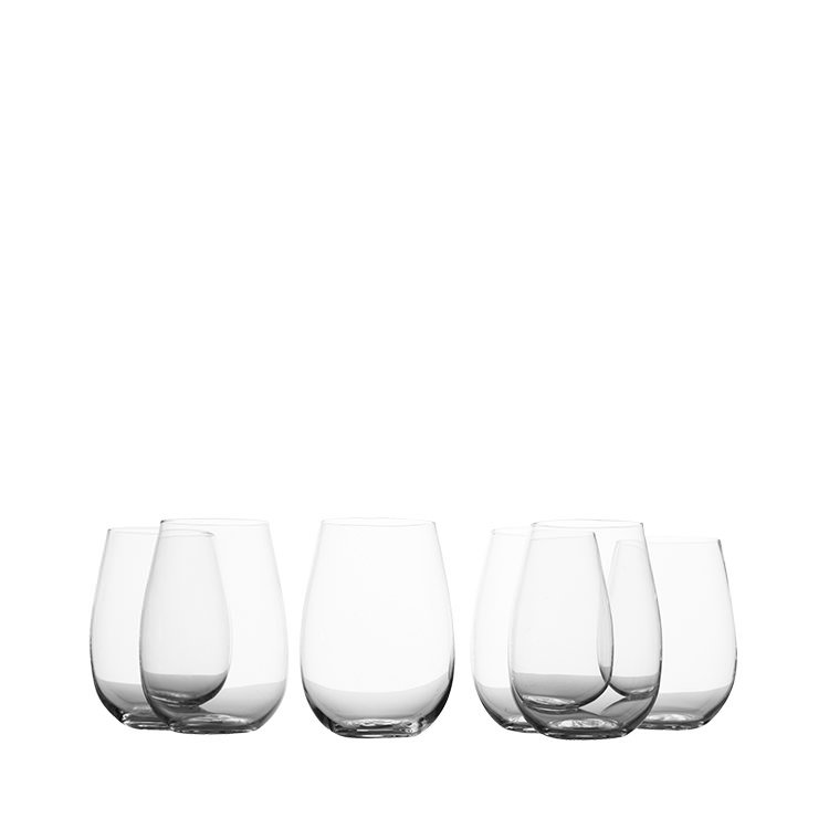Maxwell & Williams Mansion Stemless White Wine Glass 500ml Set of 6