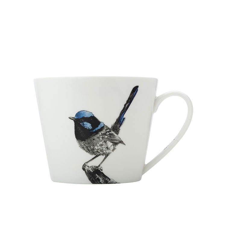 Maxwell & Williams Marini Ferlazzo Birds Mug 450ml Squat Fairy Wren
