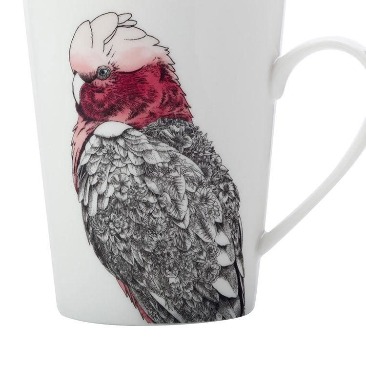 Maxwell & Williams Marini Ferlazzo Birds Mug 450ml Tall Galah