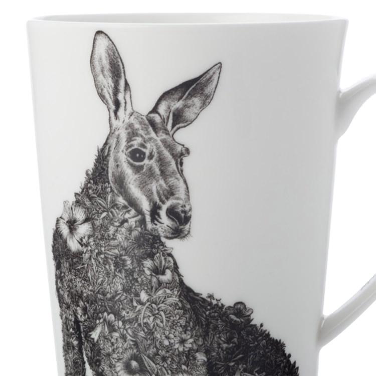 Maxwell & Williams Marini Ferlazzo Mug 450ml Red Kangaroo