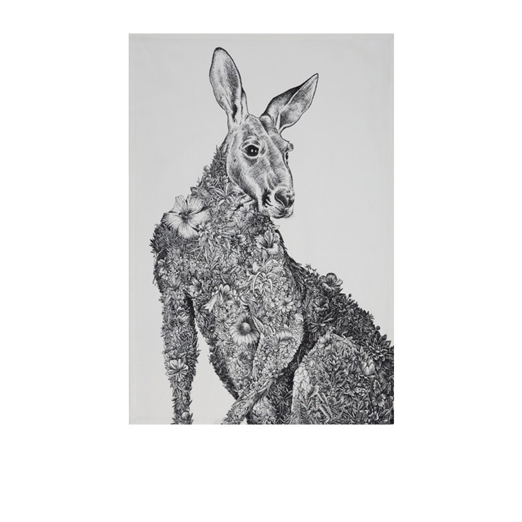 Maxwell & Williams Marini Ferlazzo Tea Towel 50x70cm Kangaroo