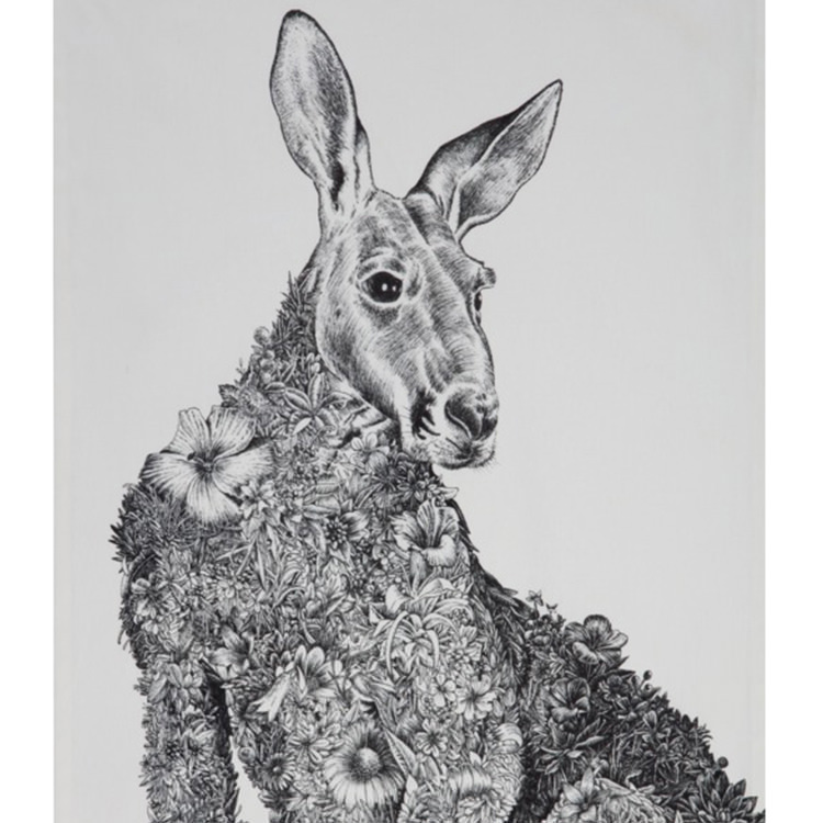 Maxwell & Williams Marini Ferlazzo Tea Towel 50x70cm Kangaroo image #2