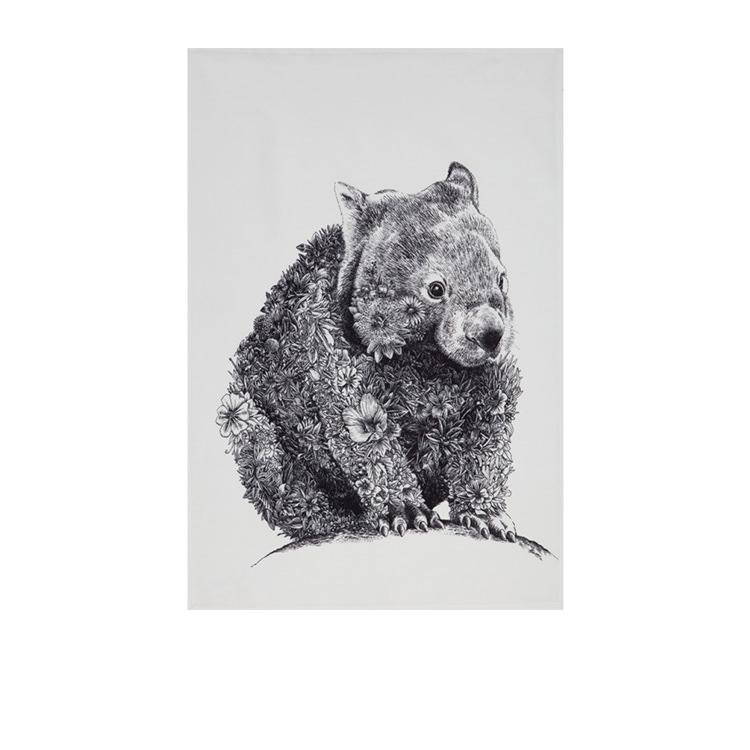 Maxwell & Williams Marini Ferlazzo Tea Towel 50x70cm Wombat