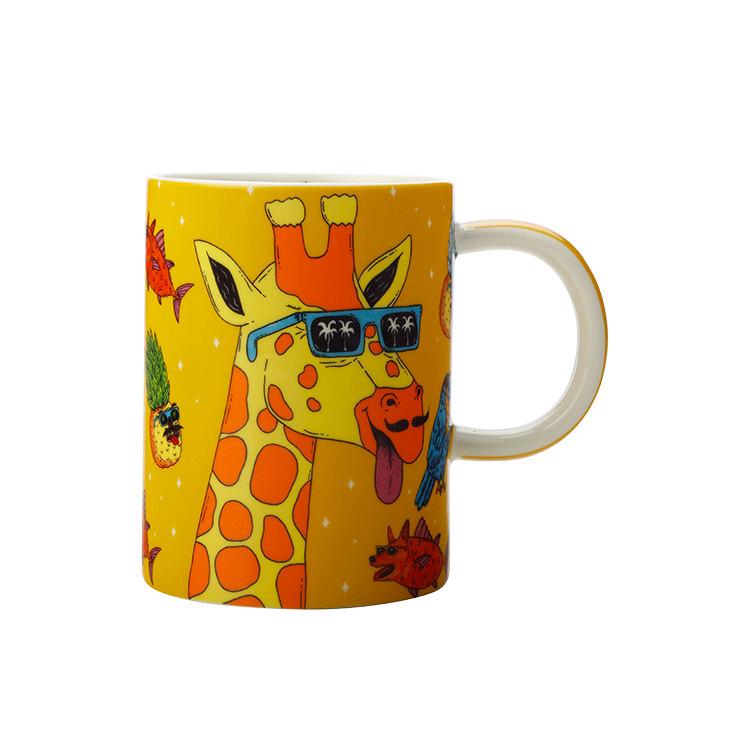 Maxwell & Williams Mulga the Artist Mug 450ml Giraffe