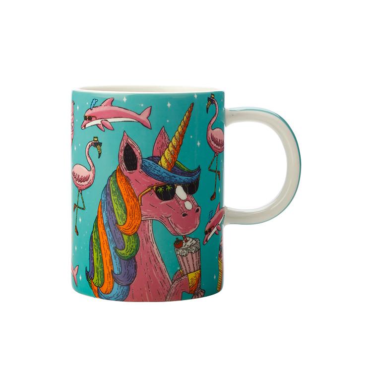 Maxwell & Williams Mulga the Artist Mug 450ml Unicorn