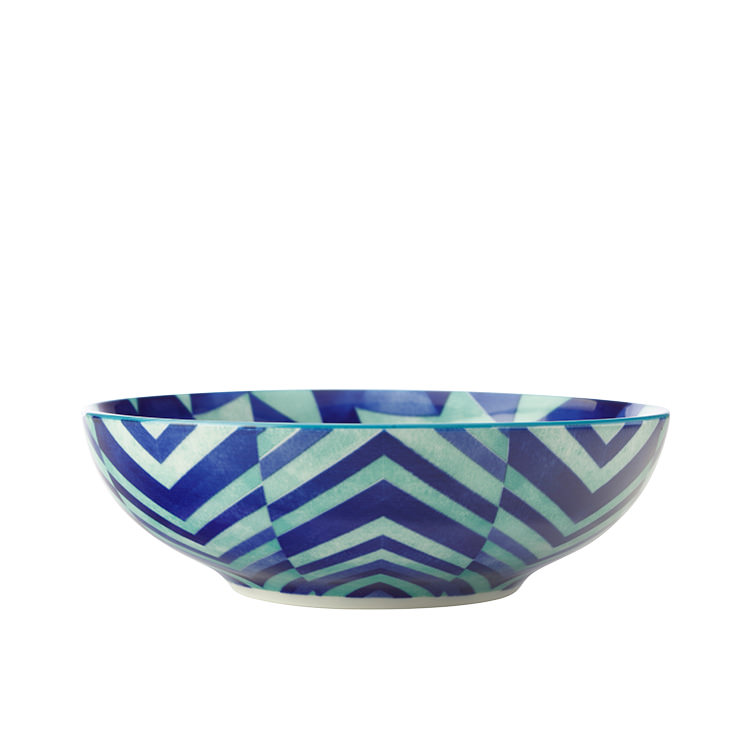 Maxwell & Williams Reef Coupe Bowl 18cm Triangles
