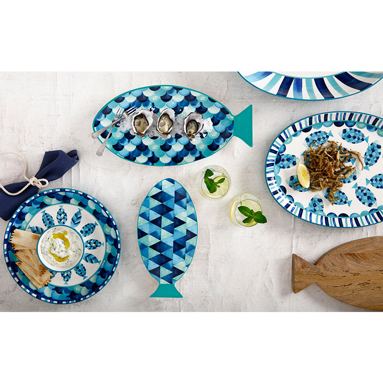 Maxwell & Williams Reef Oval Platter 40x30cm