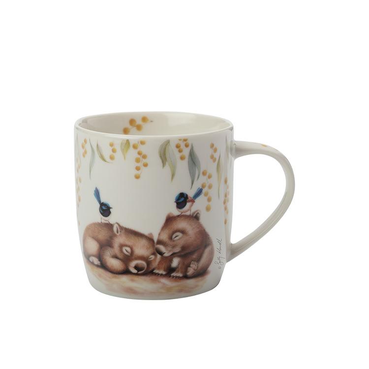 Maxwell & Williams Sally Howell Mug 340ml Wombat Wren