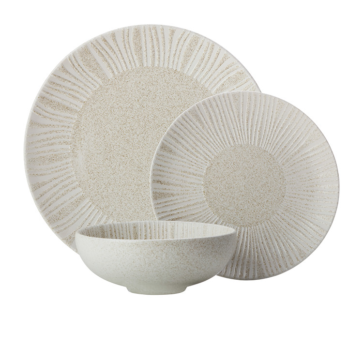 Maxwell & Williams Solaris Dinner Set 12pc Sand