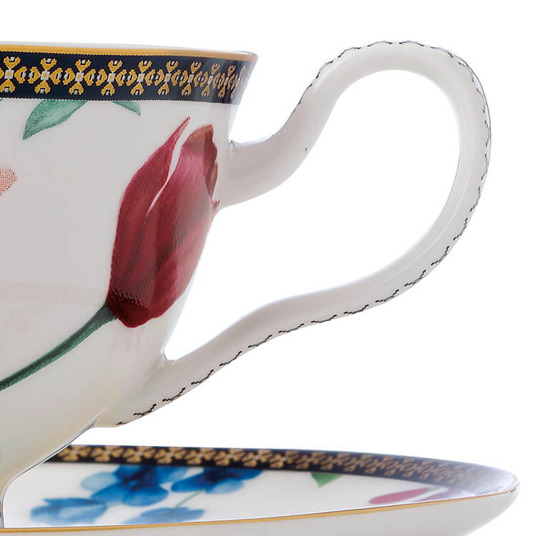 Maxwell & Williams Teas & C's Contessa Footed Cup & Saucer 200ml White