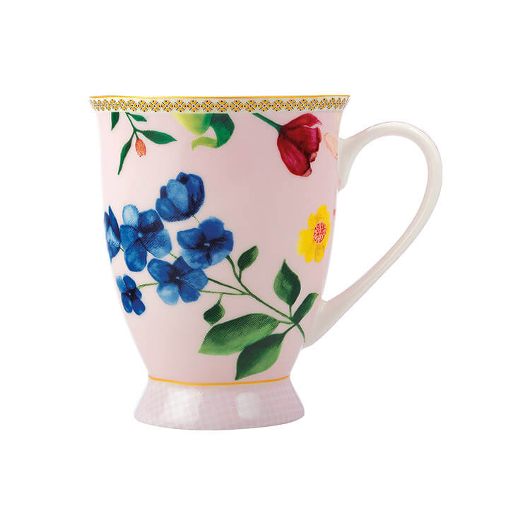 Maxwell & Williams Teas & C's Contessa Footed Mug 300ml Rose