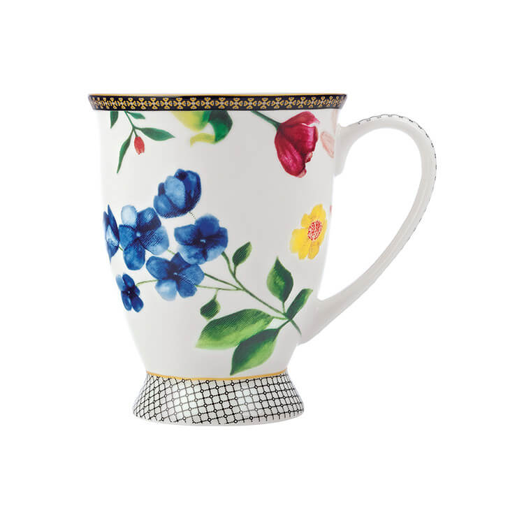 Maxwell & Williams Teas & C's Contessa Footed Mug 300ml White