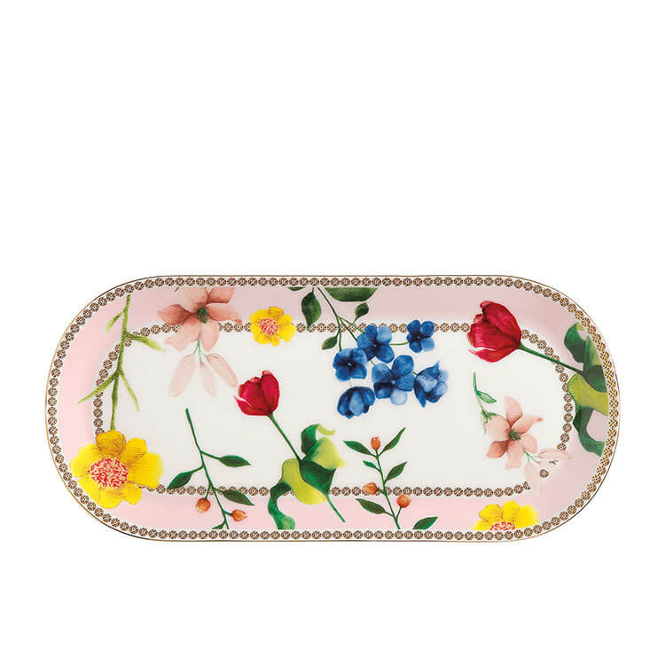 Maxwell & Williams Teas & C's Contessa Oblong Platter 25x11.5cm Rose