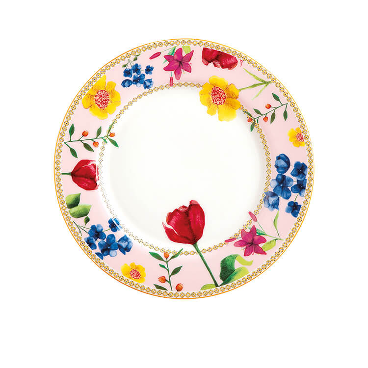 Maxwell & Williams Teas & C's Contessa Rim Plate 19.5cm Rose