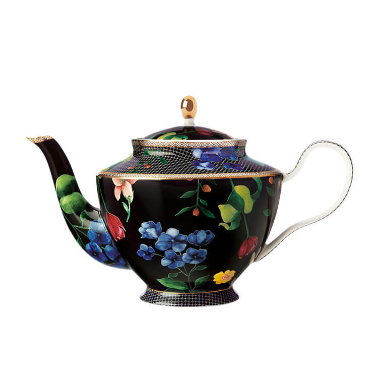 Maxwell & Williams Teas & C's Contessa Teapot with Infuser 1L Black