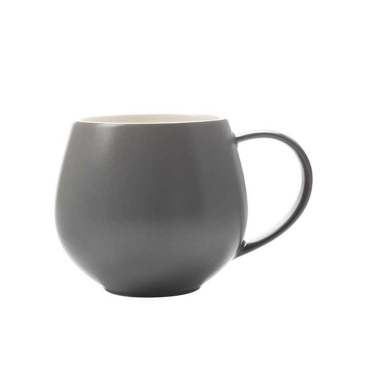 Maxwell & Williams Tint Snug Mug 450ml Charcoal