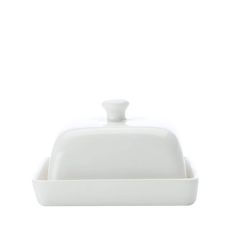 Maxwell & Williams White Basics Butter Dish