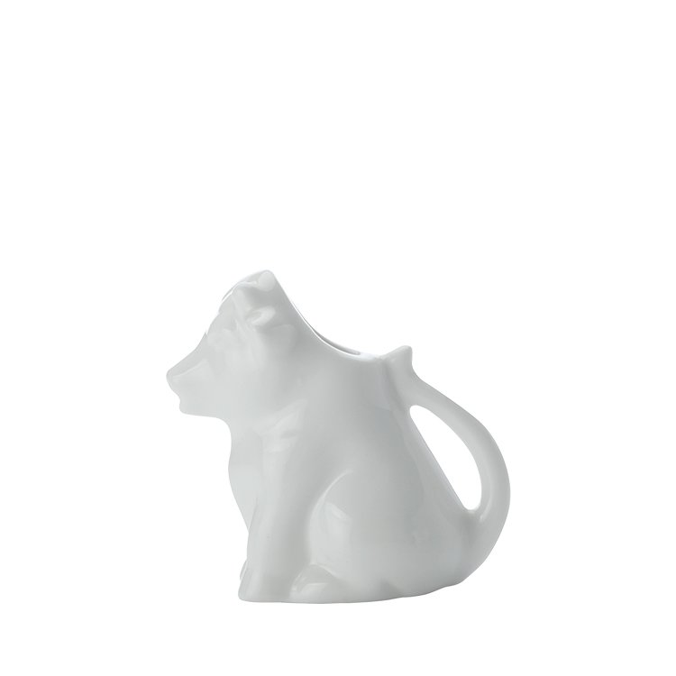 Maxwell & Williams White Basics Cow Creamer Jug 45ml