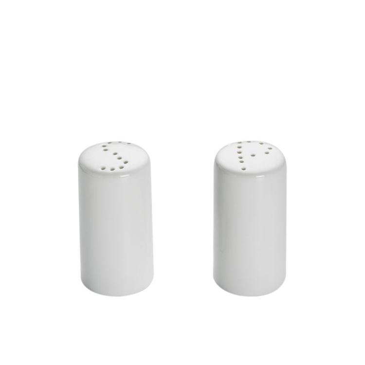 Maxwell & Williams White Basics Cylindrical Salt & Pepper Shaker