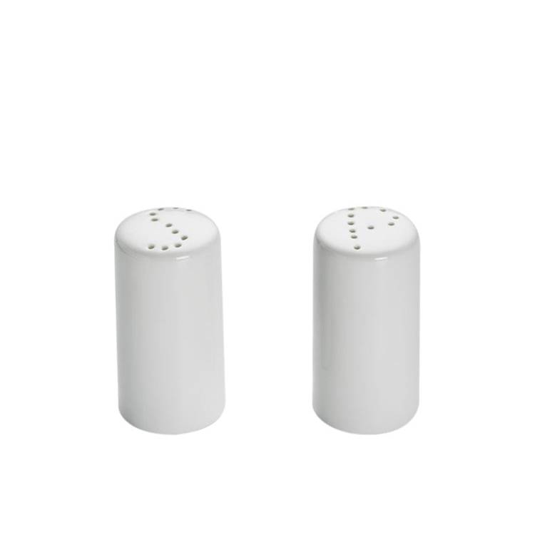 Maxwell & Williams White Basics Cylindrical Salt & Pepper Shaker
