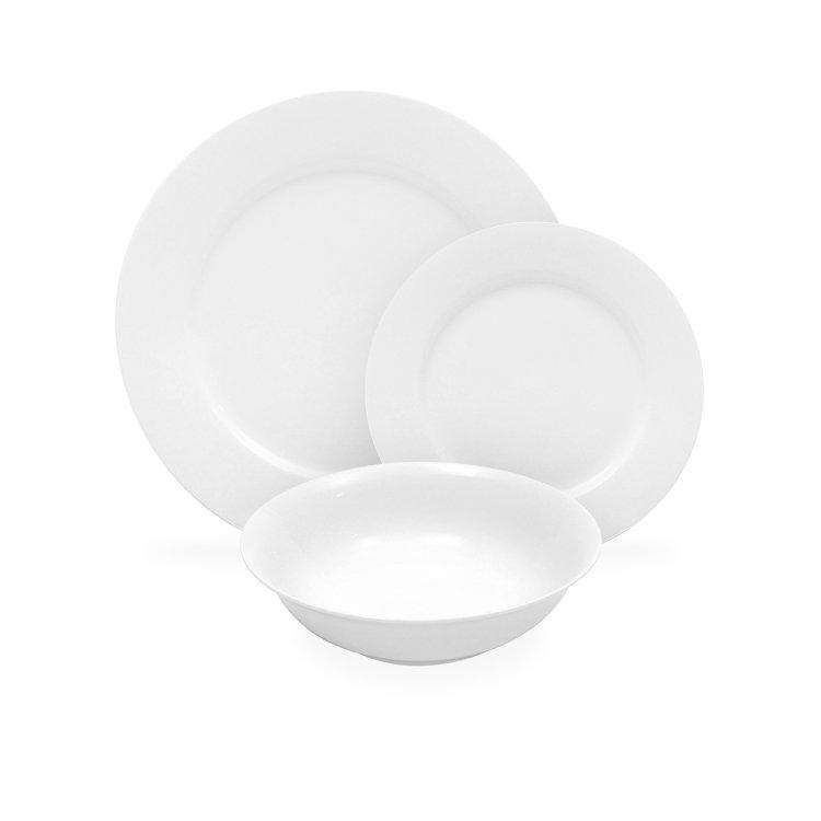 Maxwell & Williams White Basics European Dinner Set 12pc