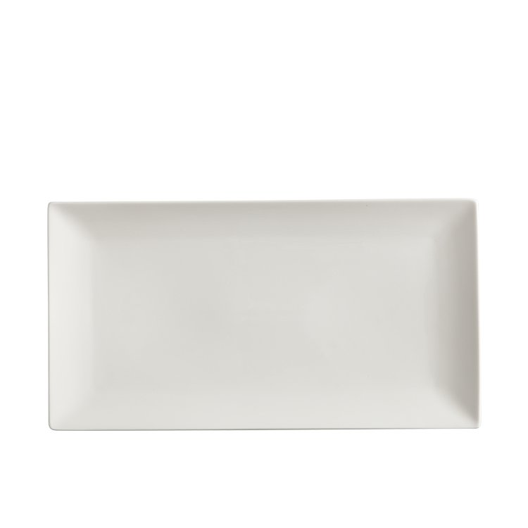 Maxwell & Williams White Basics Linear Rectangular Platter 35x19cm