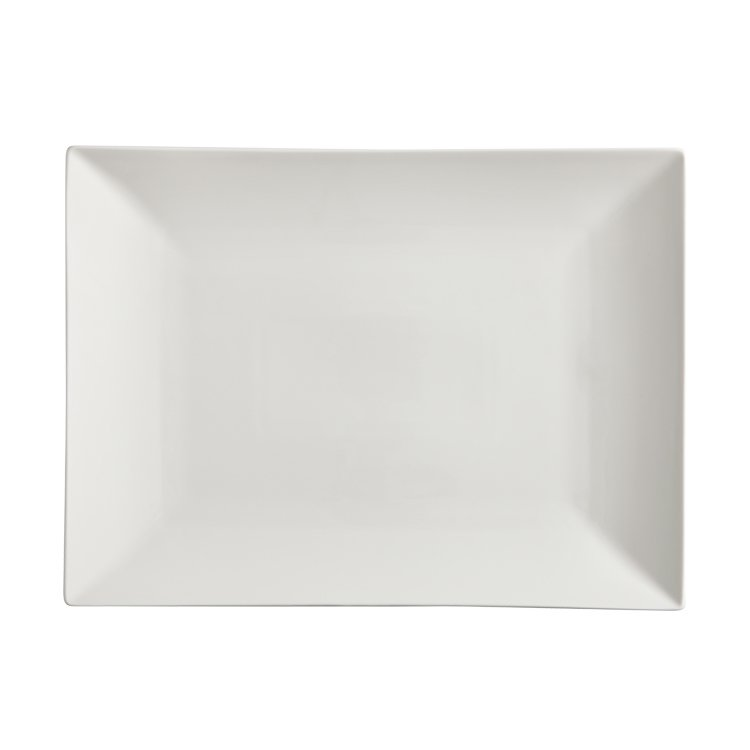 Maxwell & Williams White Basics Linear Rectangular Platter 36x25cm