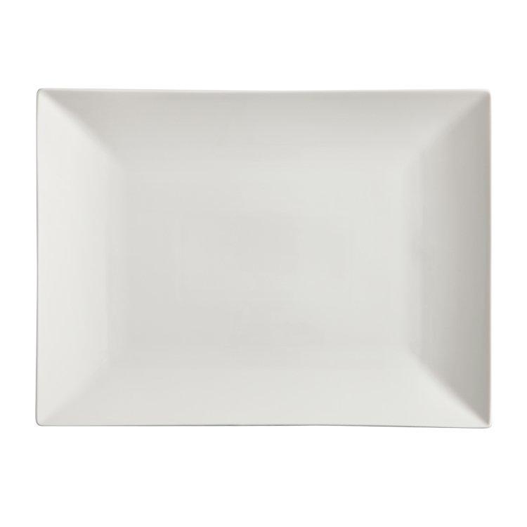Maxwell & Williams White Basics Linear Rectangular Platter 40x30cm