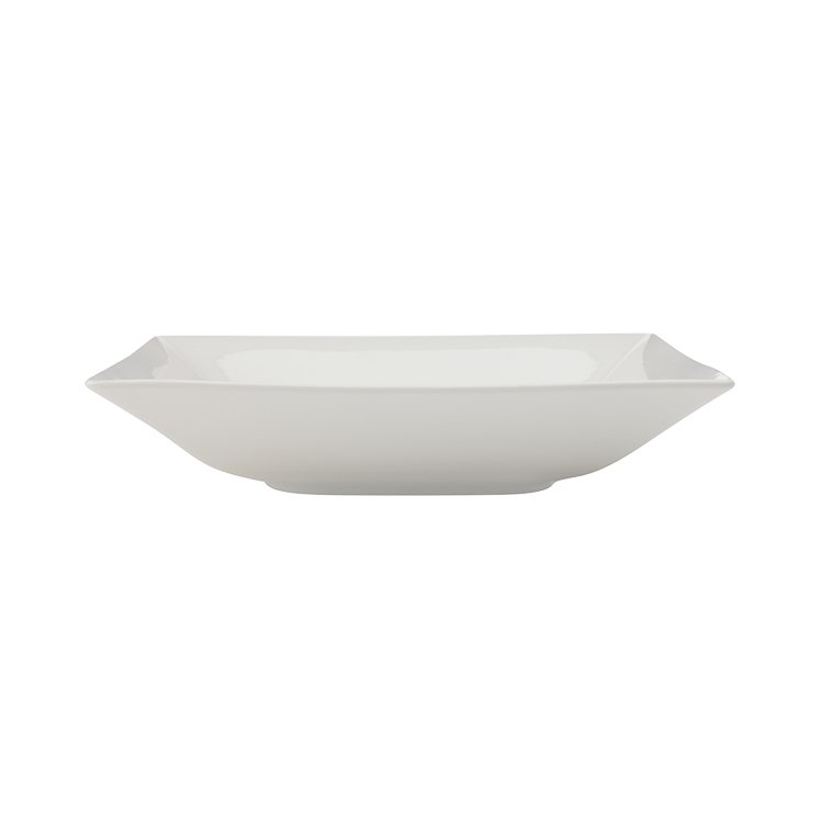 Maxwell & Williams White Basics Linear Shallow Serving Bowl 26cm