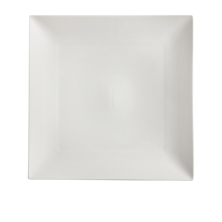 Maxwell & Williams White Basics Linear Square Platter 30cm