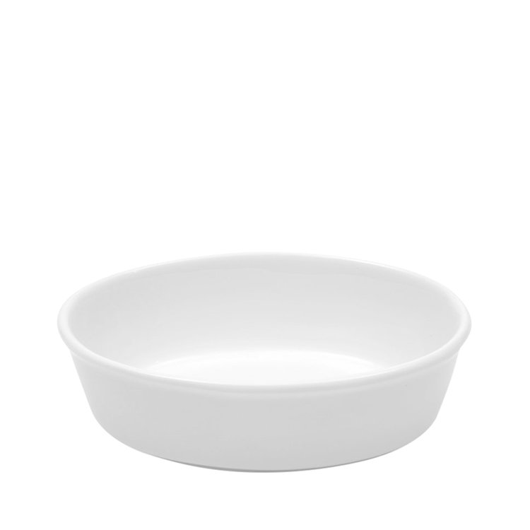 Maxwell & Williams White Basics Oval Pie Dish 18cm