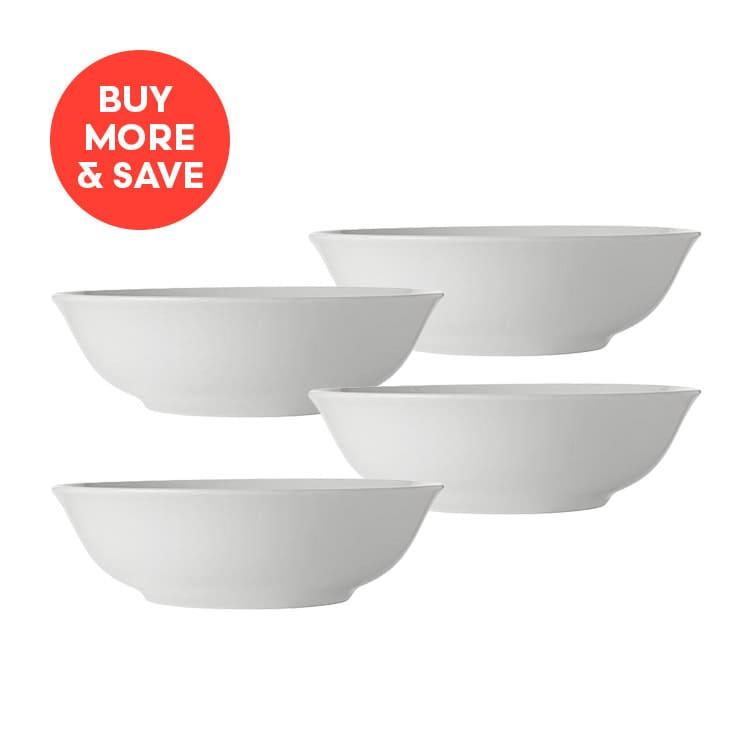 Maxwell & Williams White Basics Pasta Bowl 20cm (4pcs)
