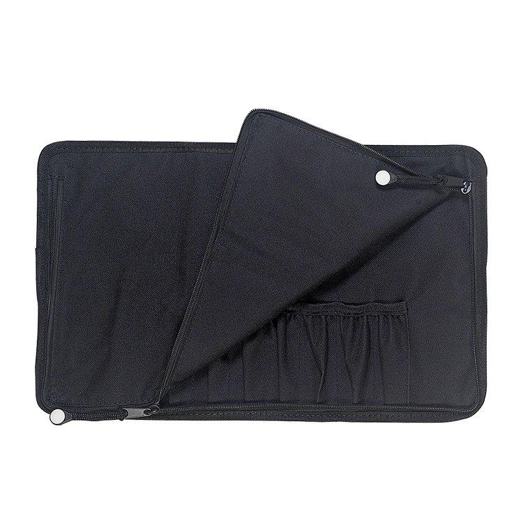 Messermeister 10 Pocket Gadget Roll Black