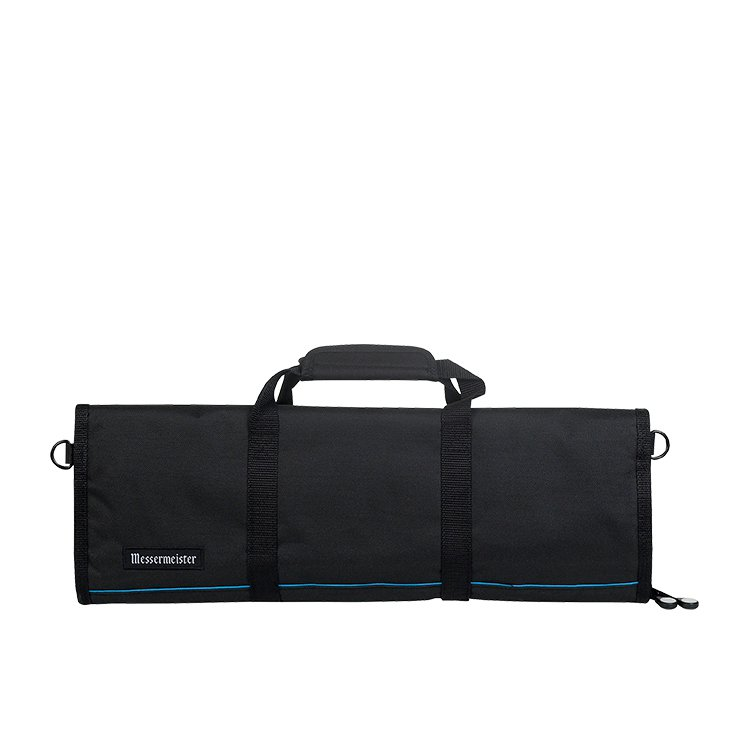 Messermeister 12 Pocket Knife Roll Black