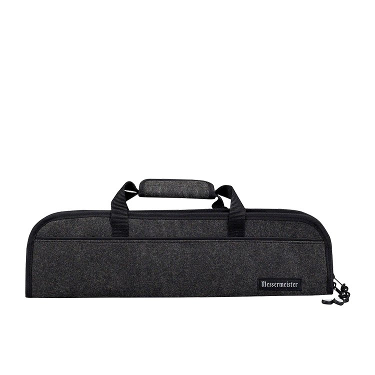 Messermeister 5 Pocket Felt Knife Roll Black