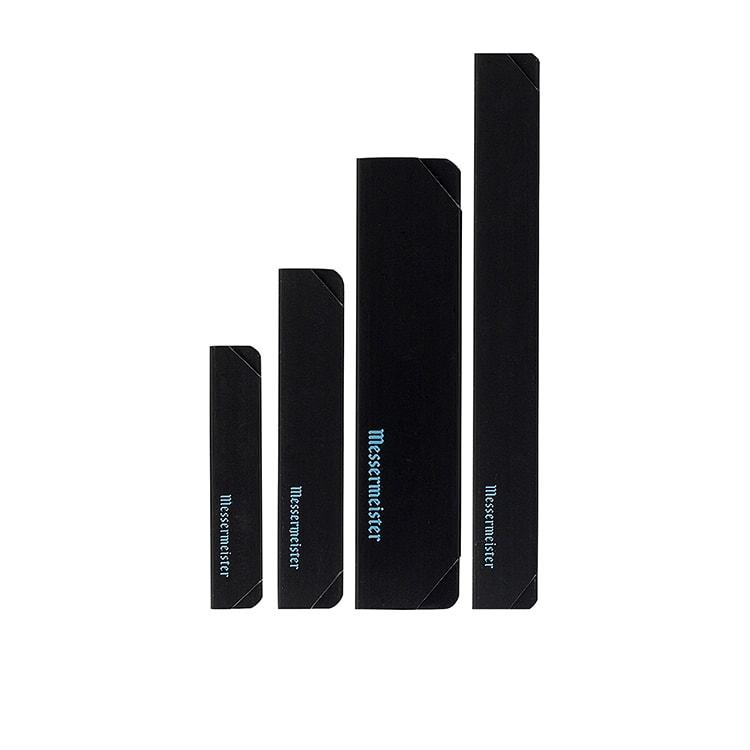Messermeister Black Edge Guard 4pc Set