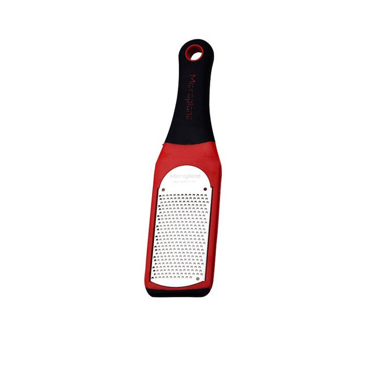 Microplane Artisan Fine Grater Red