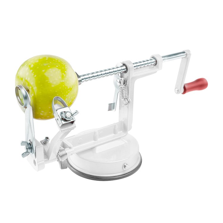 Edge Apple Corer Peeler Slicer Machine Metal & White