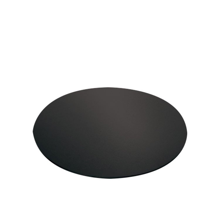 Mondo Cake Board Round Black 25cm