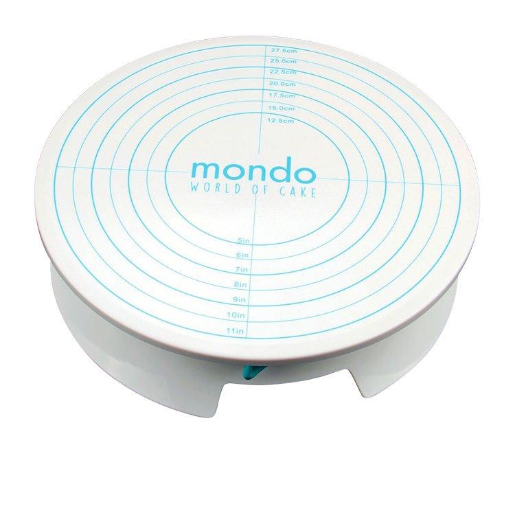Mondo Cake Decorating Turntable w/ Brake 30cm