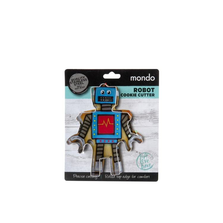 Mondo Cookie Cutter Robot