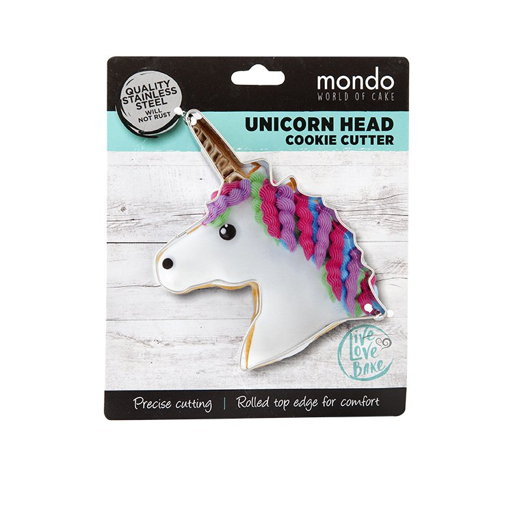Mondo Cookie Cutter Unicorn Head