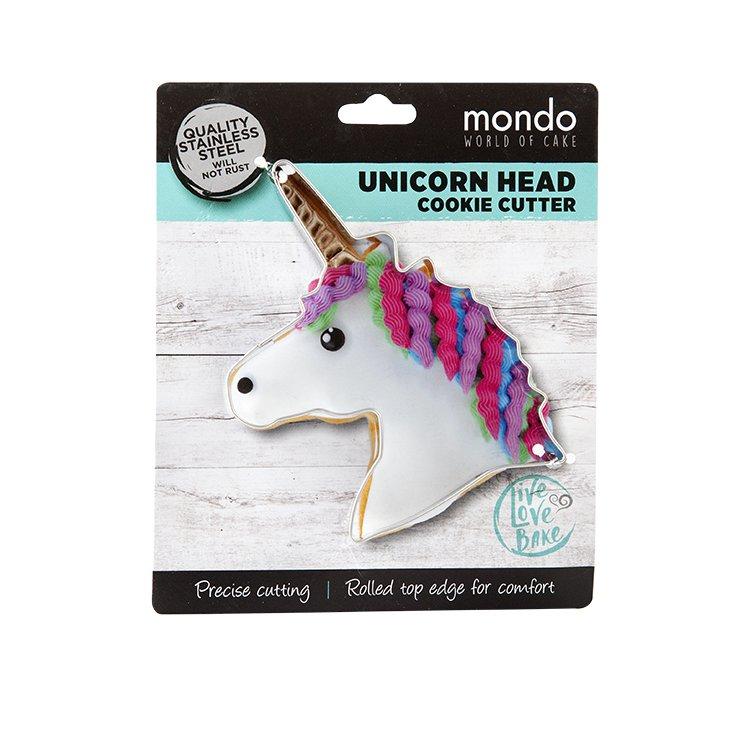 Mondo Cookie Cutter Unicorn Head