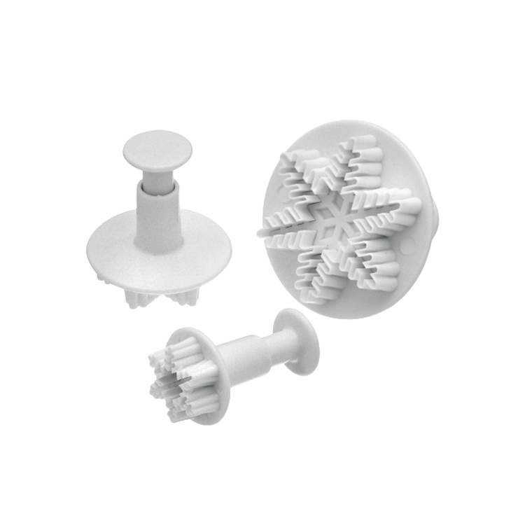 Mondo Snowflake Plunger Cutter Set 3pc