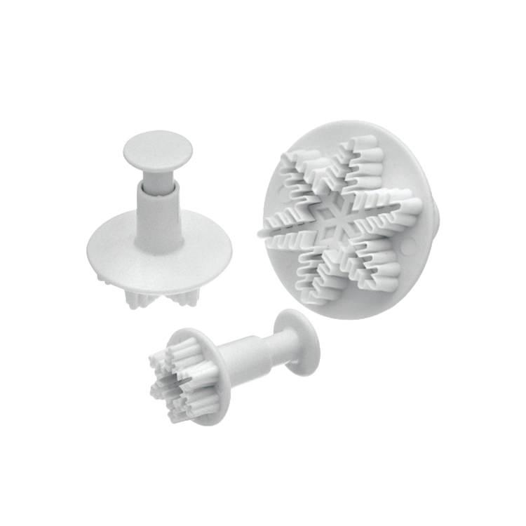 Mondo Snowflake Plunger Cutter Set 3pc
